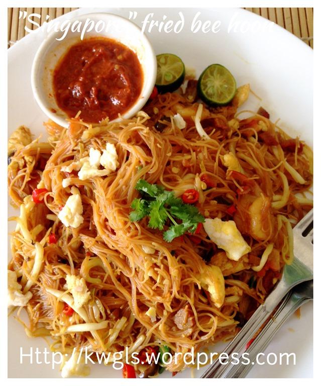 Singaporean Fried Rice Vermicelli? Xing Zhou Fried Bee ...