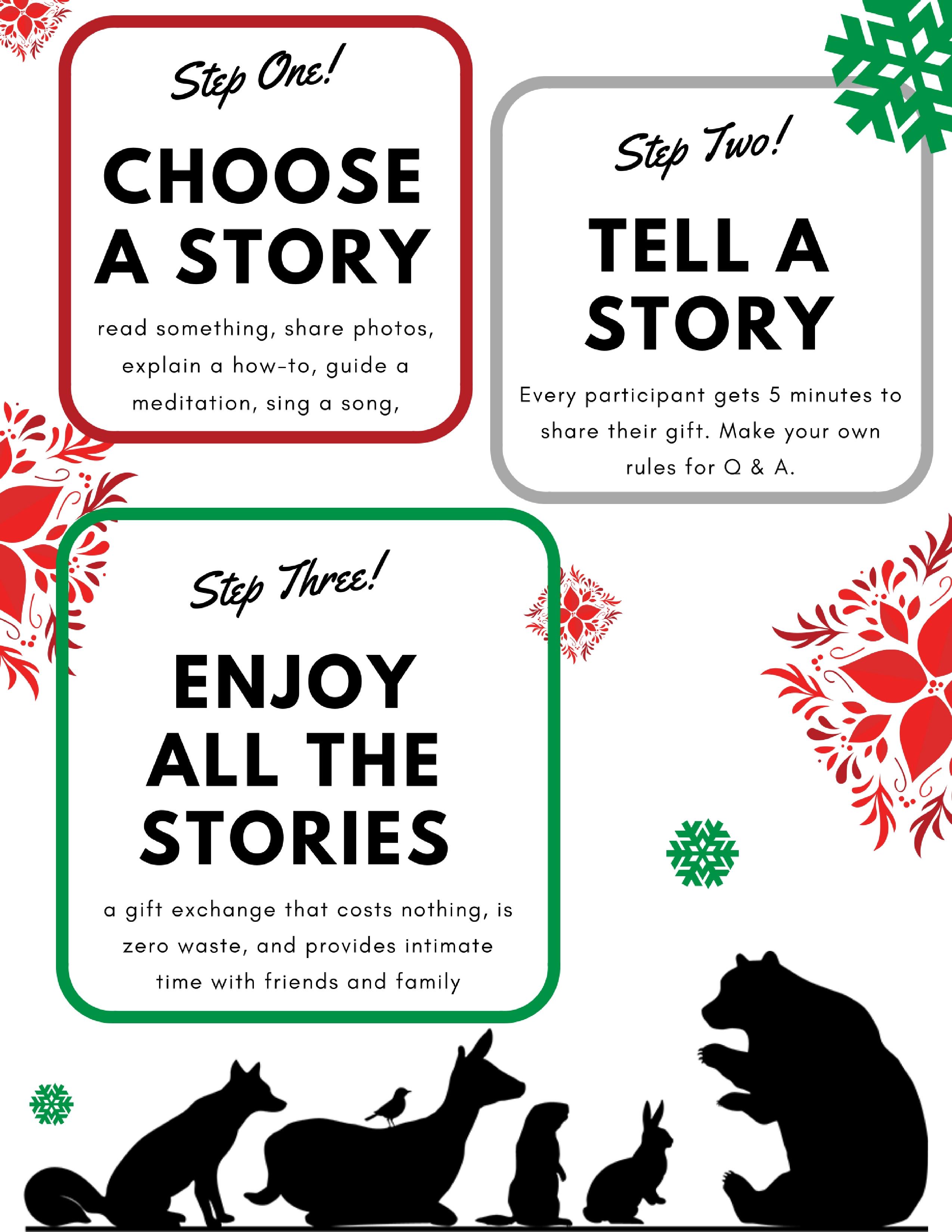 Inspirational Secret Santa Gift Exchange Story Teller Rules Kw Gift ...