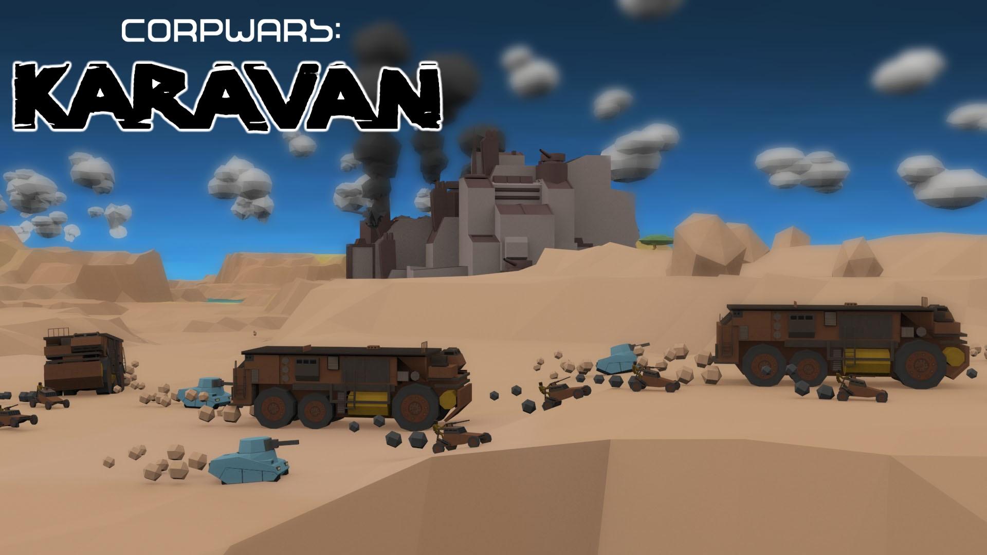 Corp Wars Equity Crowdfunding - Corp Wars: Karavan Mockup