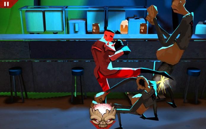 Wasteland Bar Fight by Kybernesis: Guy Rage!