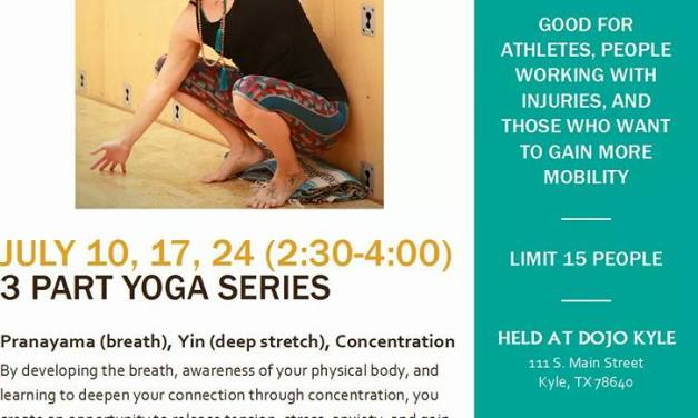 Limited Availability for Upcoming Yoga Series in Downtown Kyle