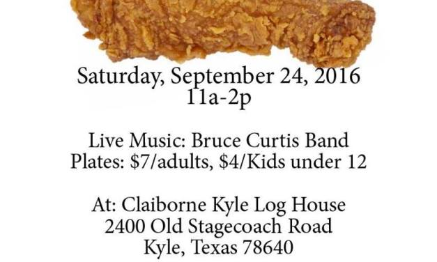Claiborne Kyle Log House Annual Fried Chicken Dinner