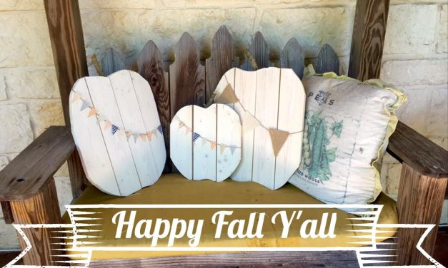 The Nest At Its Best: DIY Wood Pumpkins