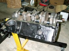85 Chevy Shortbox - engine rebuild 2