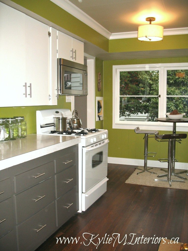 Painted 2 Tone Cabinet Ideas Budget Friendly Kitchen Remodel