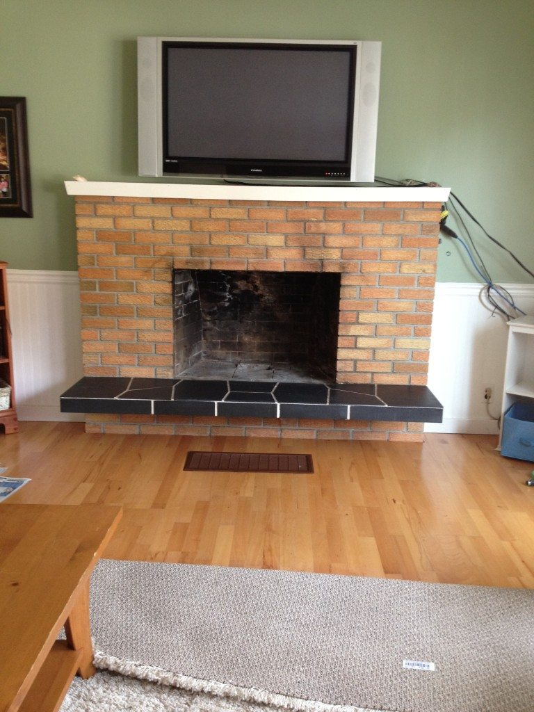 Painting An Old Fireplace The Best Paint Colours For Walls To Coordinate With A Brick Fireplace