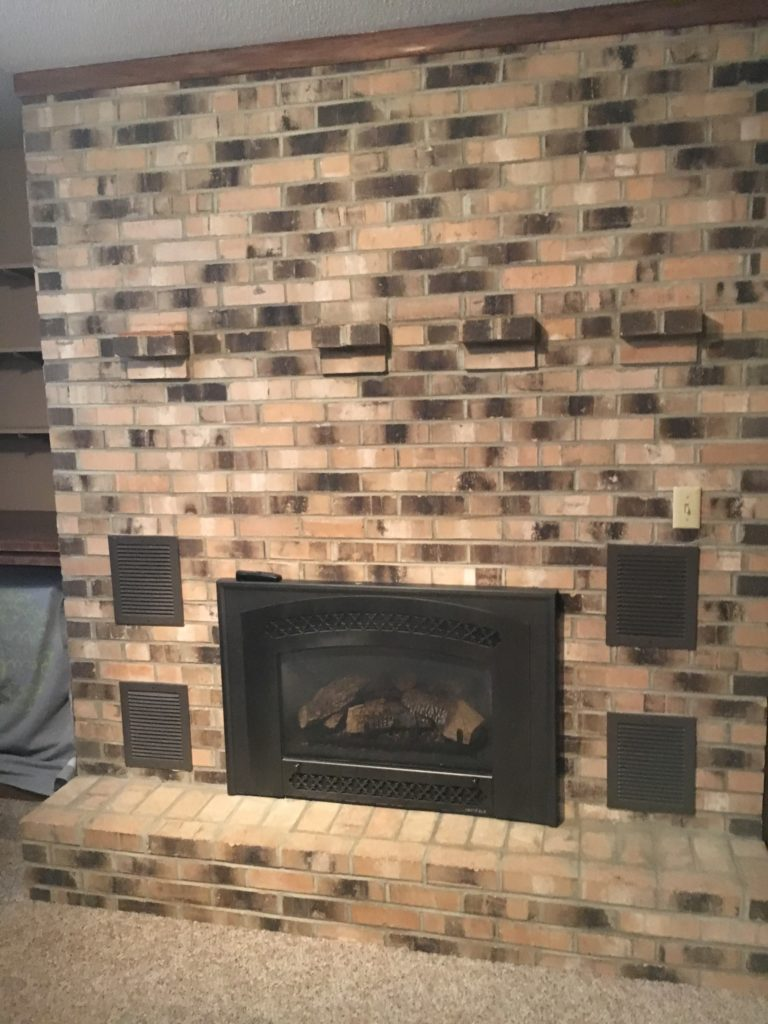 Brick Paint Colors Interior The Best Paint Colours For Walls To Coordinate With A Brick Fireplace