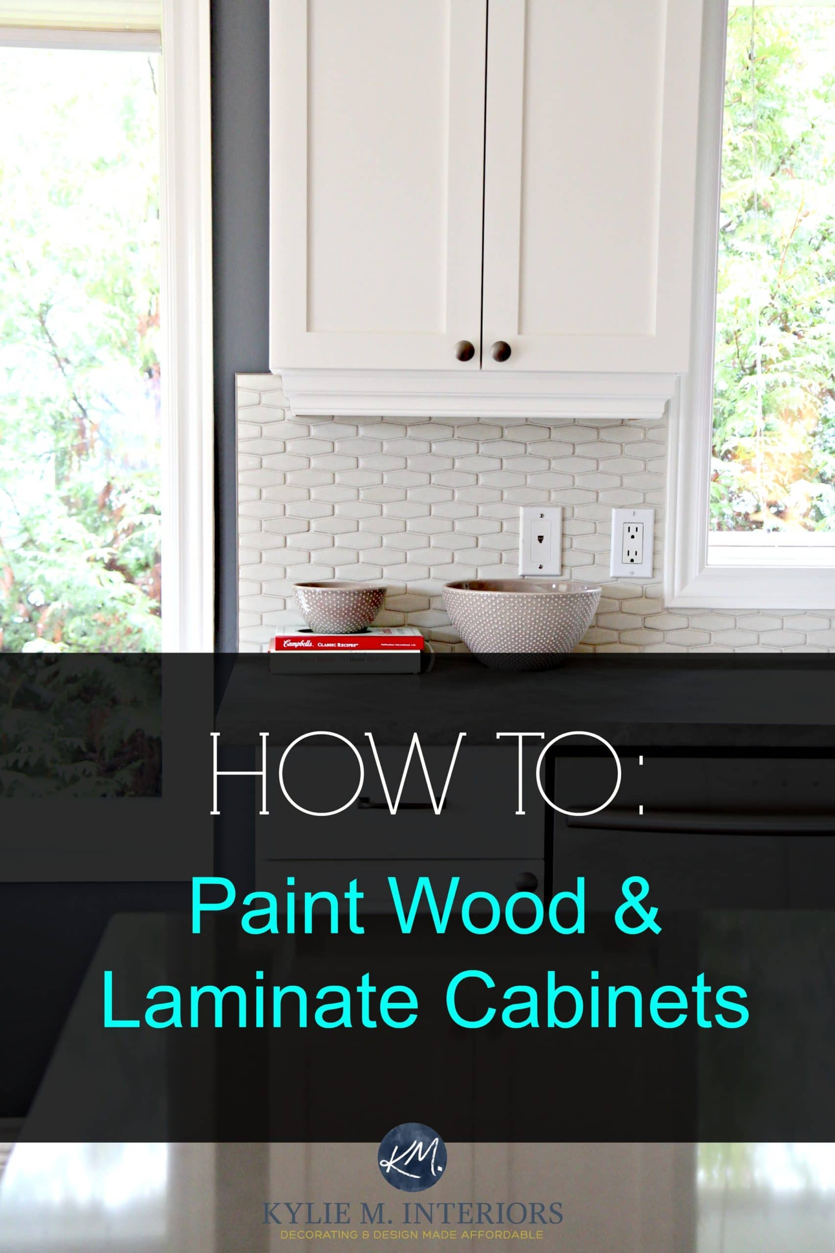 How To Update Laminate Kitchen Cabinets Tips And Ideas For Painting Wood And Laminate Cabinets And
