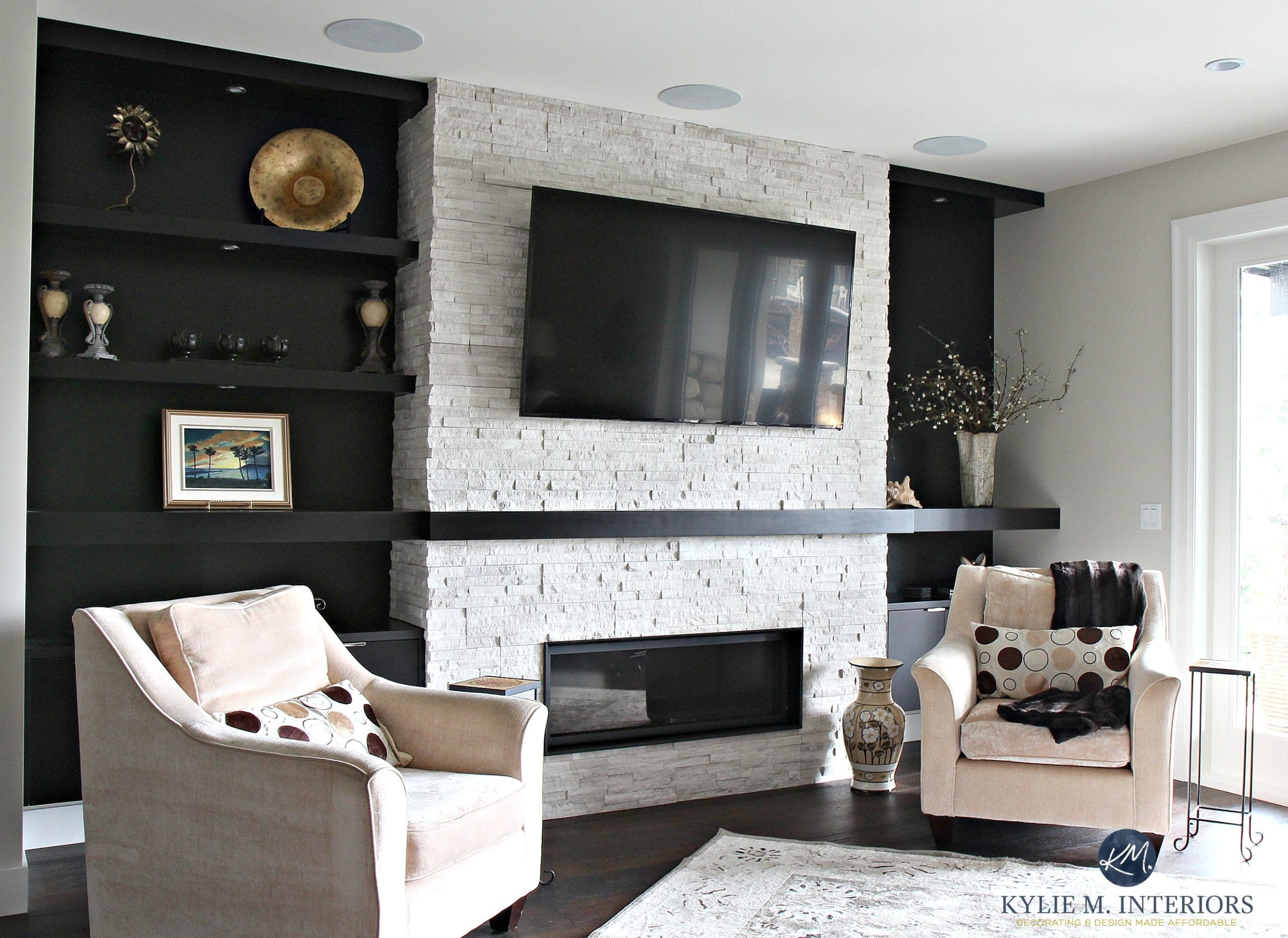 Fireplace Mantel Decor With Tv E Decor And Online Decorating Services Beautiful
