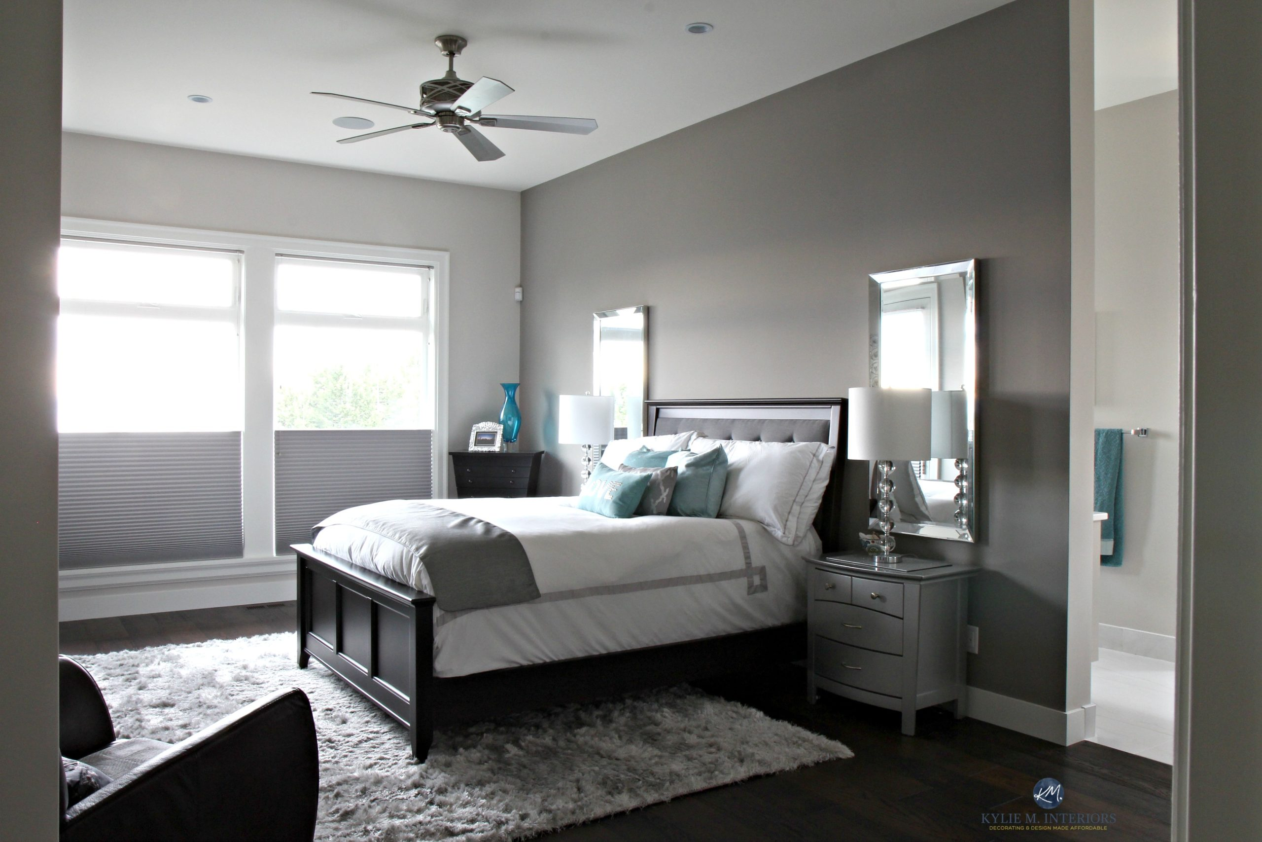 Accent Wall Ideas For Master Bedroom Master Bedroom Benjamin Moore Collingwood With Escarpment Feature