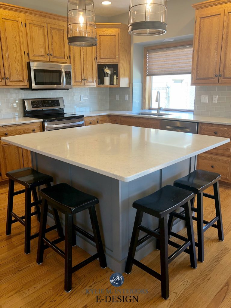 Best Affordable Kitchen Cabinets Ideas To Update Kitchen With Oak Wood Cabinets. Painted
