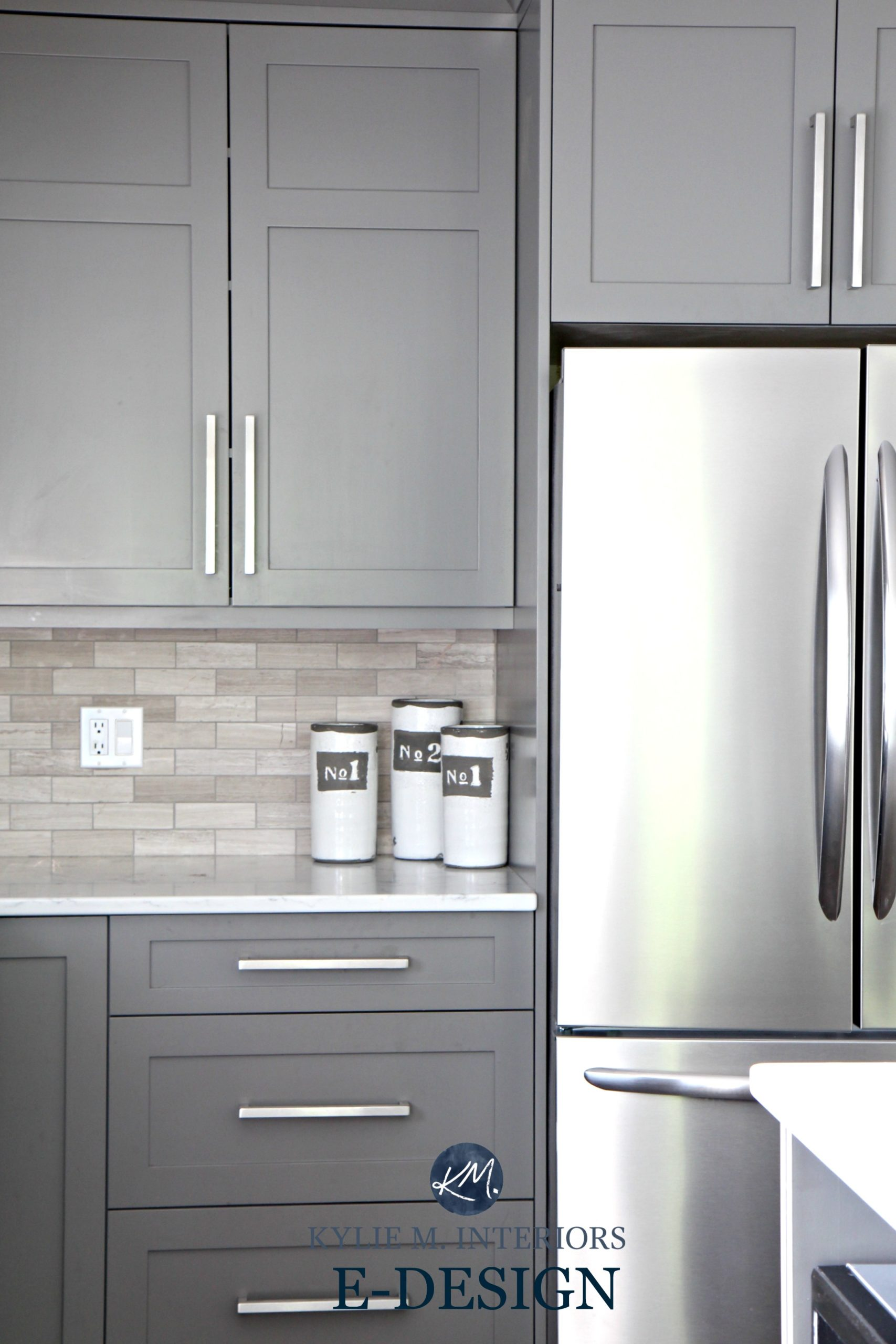 Benjamin Moore Kitchen Cabinet Colors Gray Painted Kitchen Cabinets Benjamin Moore Amherst Gray