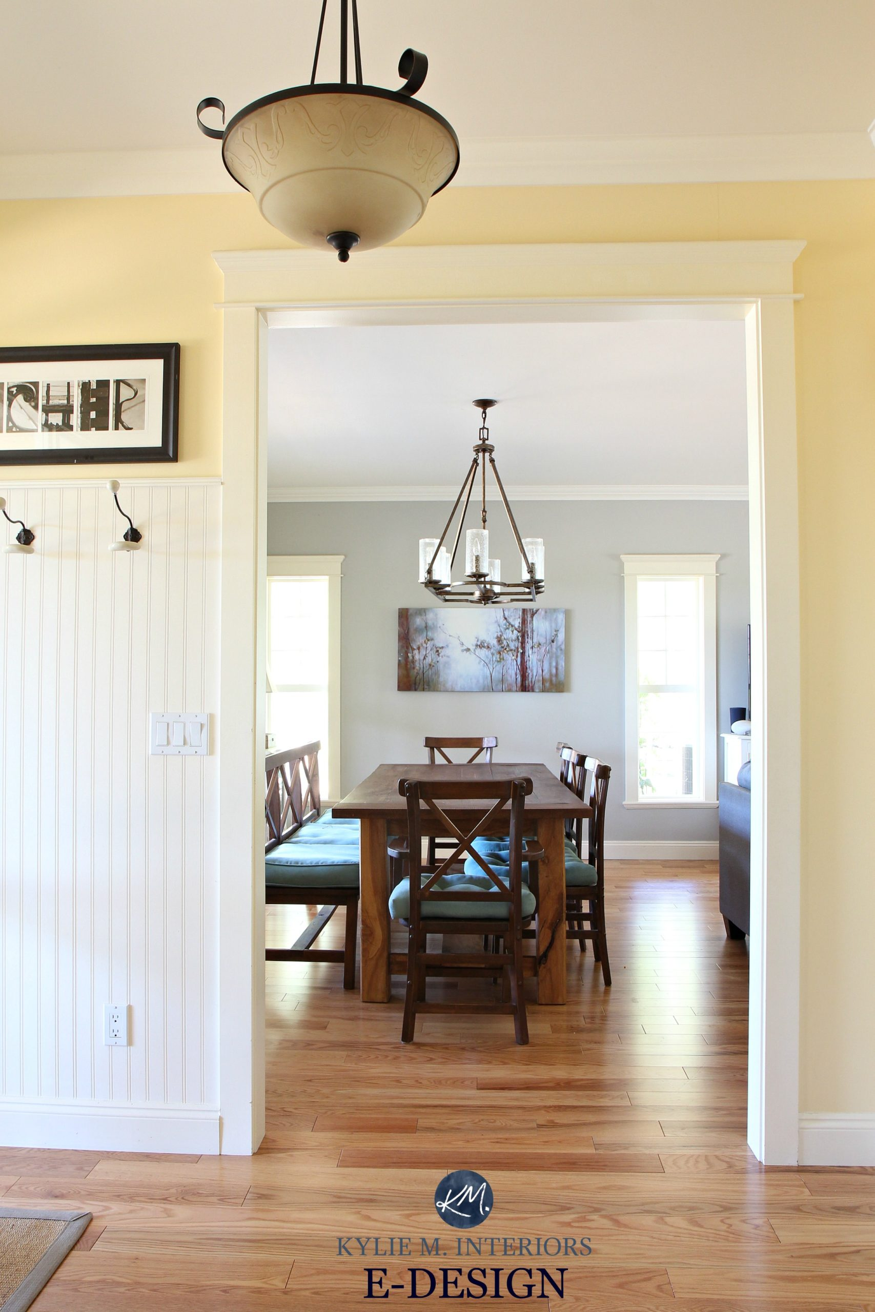 My Yellow Farmhouse Blog E Design Farmhouse Country Style Paint Palette Benjamin