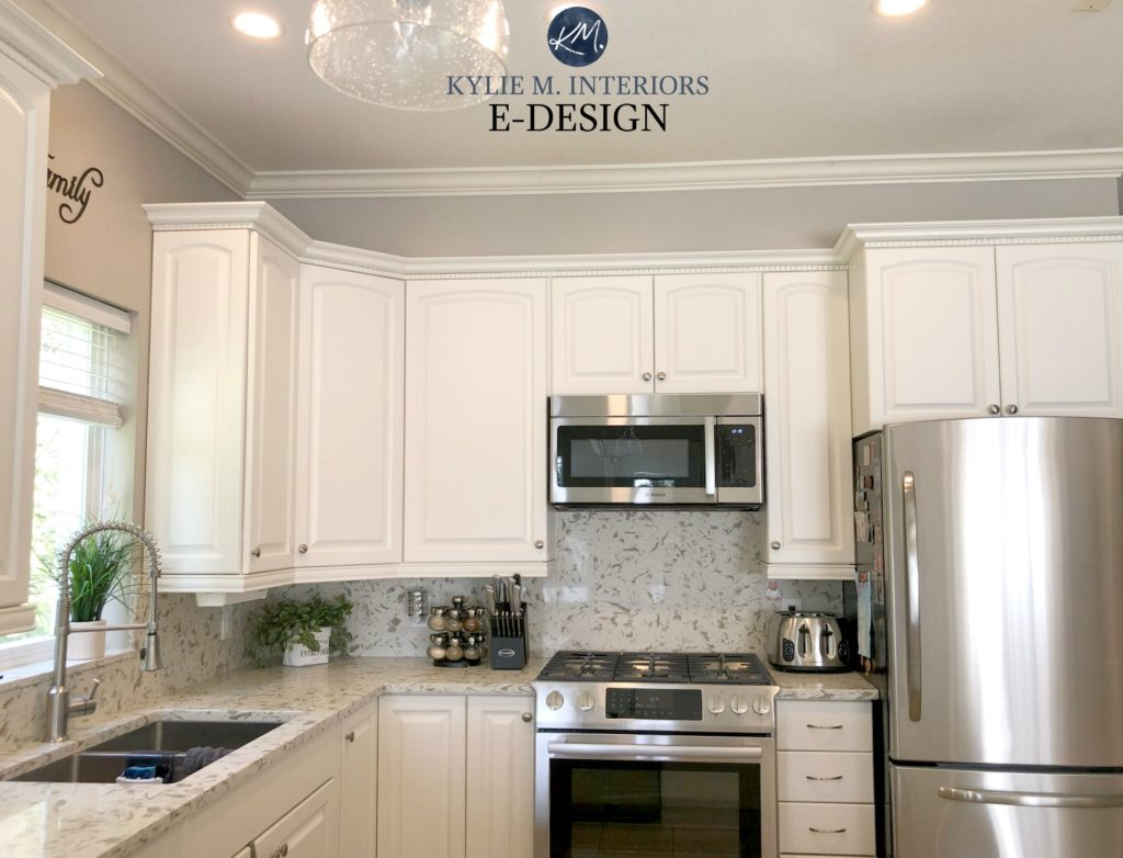 Should Kitchen Cabinets Go Up To Ceiling The 3 Best White Paint Colours For Cabinets Benjamin Moore