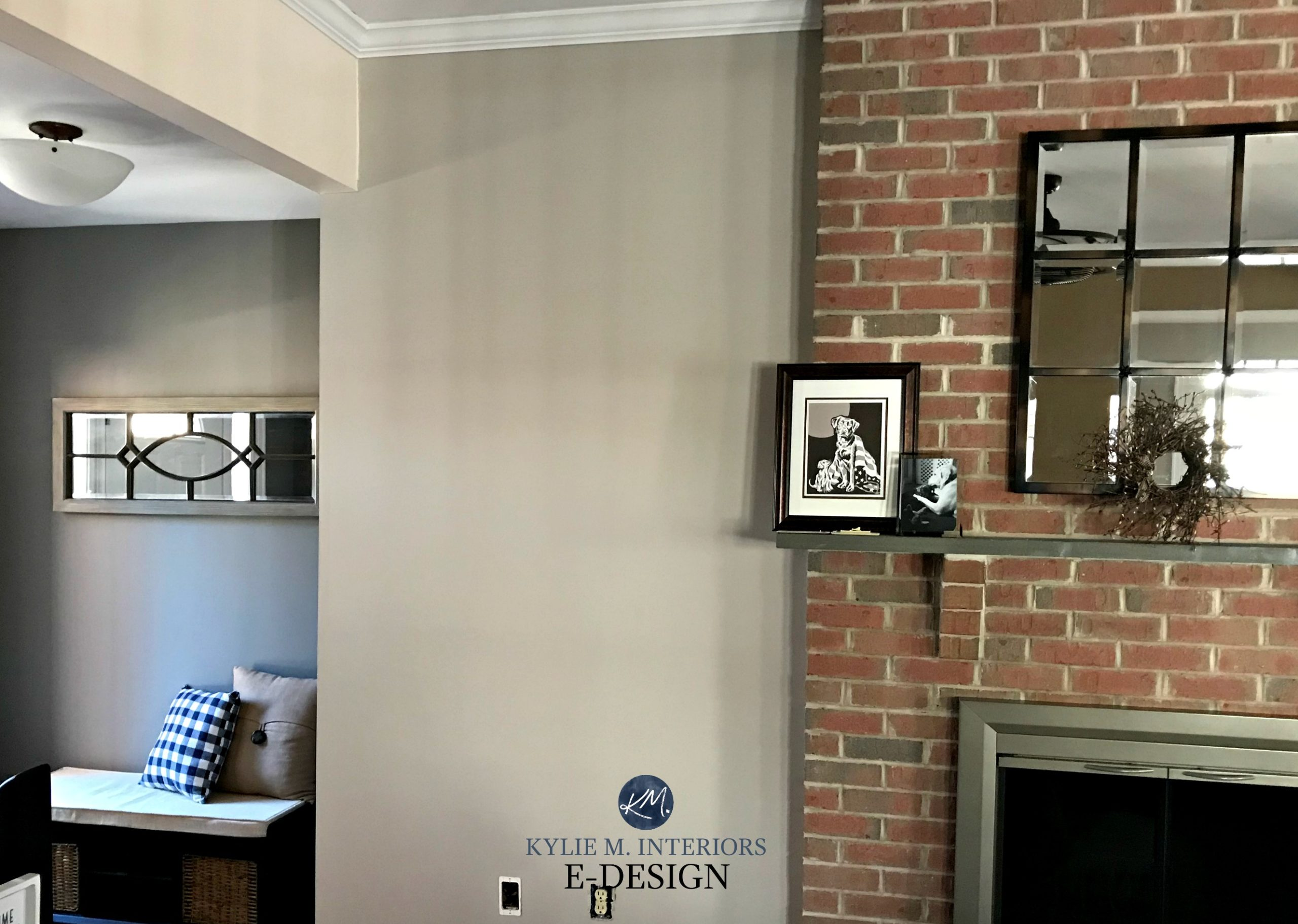 Paint Colors That Go With Red Brick Fireplace Red Brick Fireplace Best Paint Colour Sherwin Williams