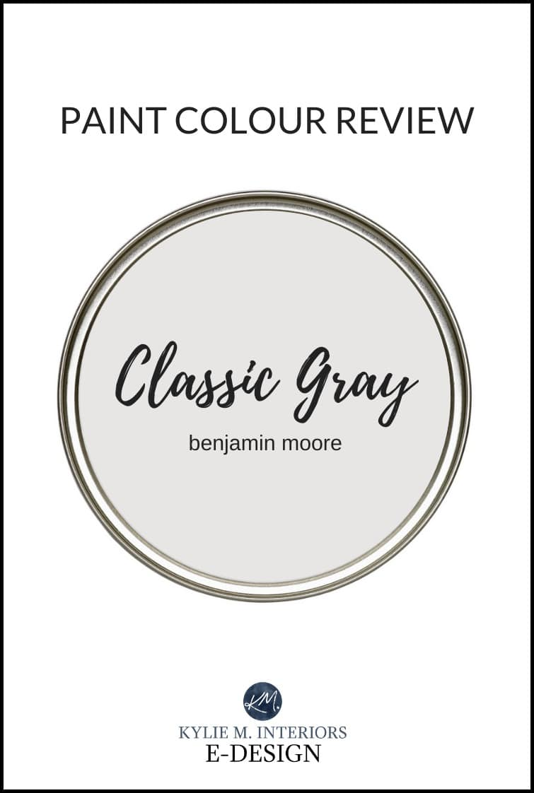 Paint Colour Review Benjamin Moore Classic Gray 1548 Kylie M Interiors