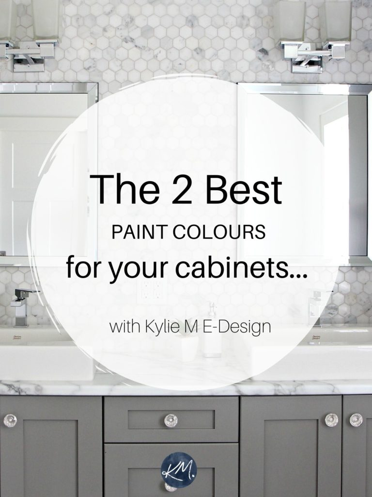 The 6 Best Paint Colours For A Bathroom Vanity Including White