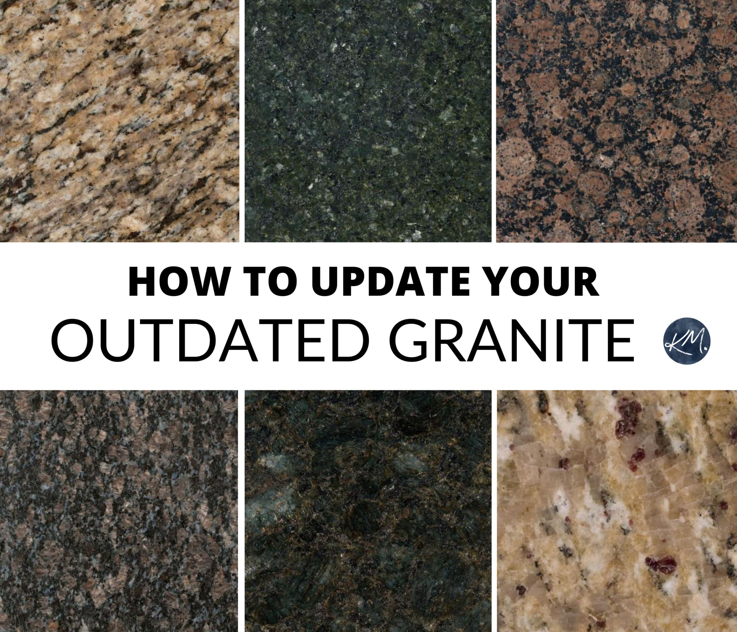 How To Update Your Older Granite Countertops Kylie M Interiors