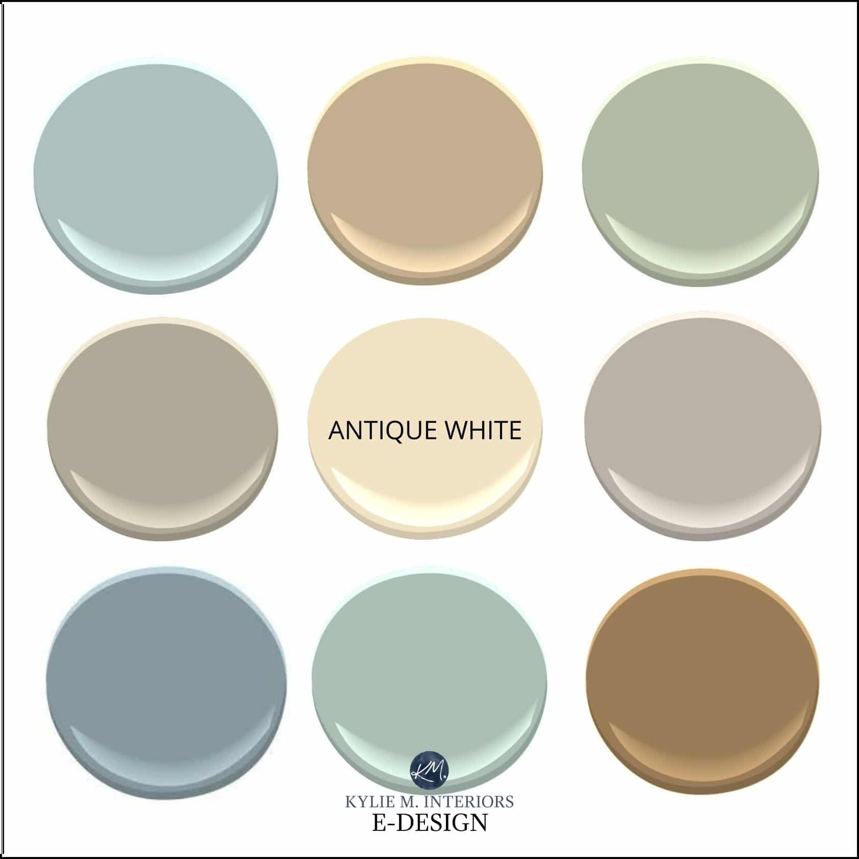 Paint Colour Review Sherwin Williams Antique White Sw 6119 Kylie M Interiors