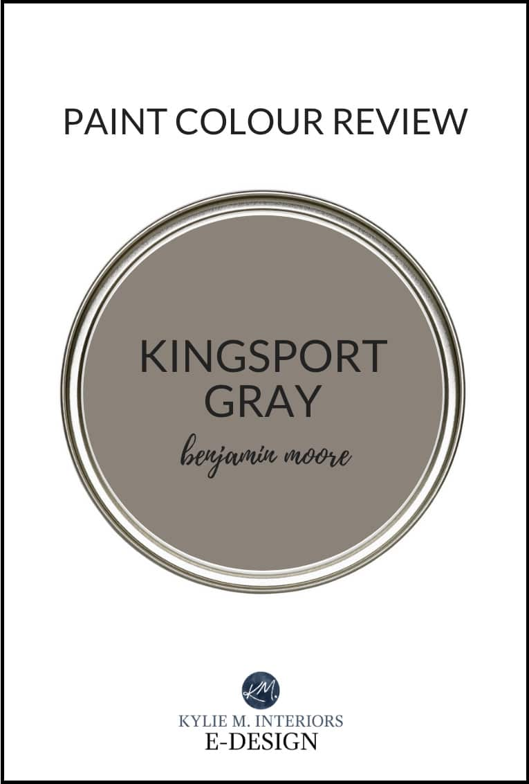 Paint Colour Review Benjamin Moore Kingsport Gray Hc 86 Kylie M Interiors