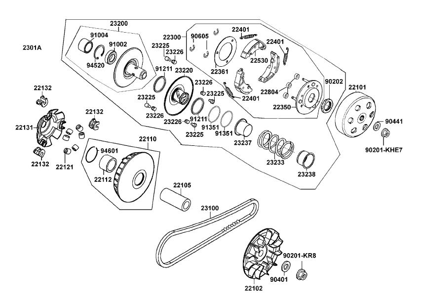 Kymco Scooter Parts, ATVs Scooter Parts, Performance Scooter Parts