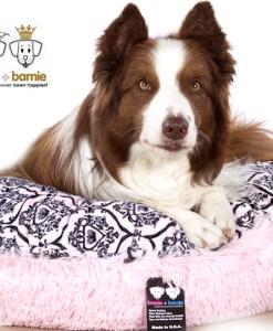 Bessie+Barnie Bagelbed Bubblegum/Versailles pink – M