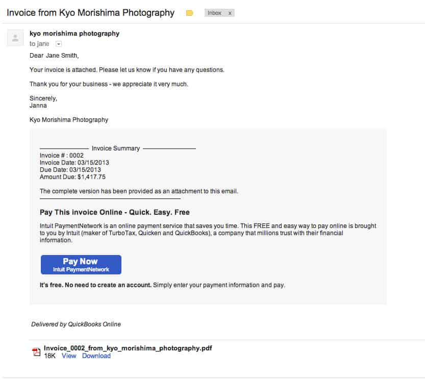 How to Pay Online - Kyo Morishima Photography