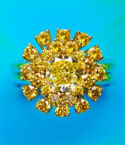 Yellow Diamond Ring AT167