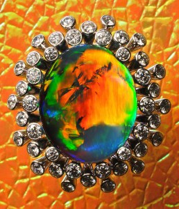 Black Opal Ring IR0001