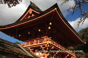 Kamigamo Jinja Shrine