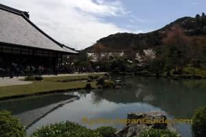 Tenryu-ji and pond 083