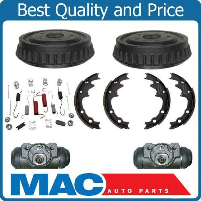 Standard Smaller 9 Inch Drums W Cylinders Shoes  Springs Kit Ford