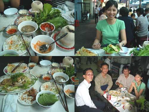 Ho Chi Minh City Banh Xeo Vietnamese Crepe