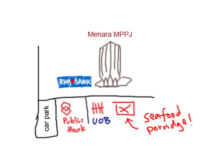map of PJ state