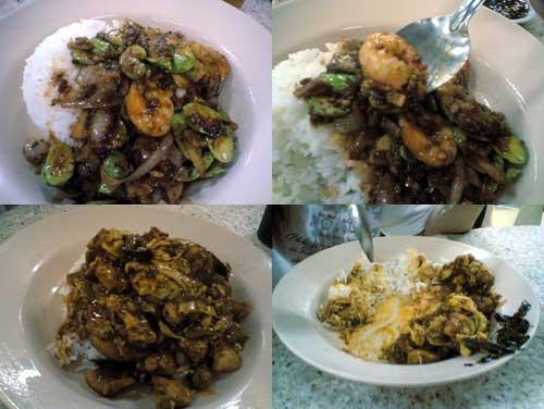 O & S Restaurant at Seapark, Petai & Prawn rice