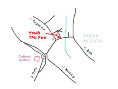 Jalan Ipoh Yong Tau Foo, Segambut