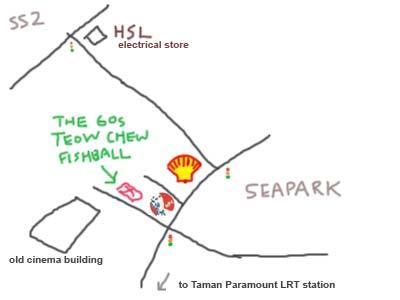 The 60s Teow Chew Fishball at Seapark