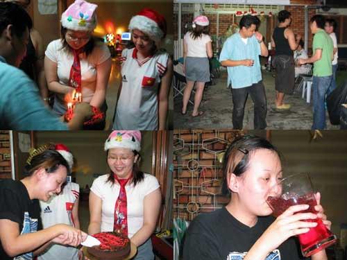 KY xmas party 2006