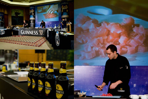 Guinness Gastronomy Workshop with Chef in Black