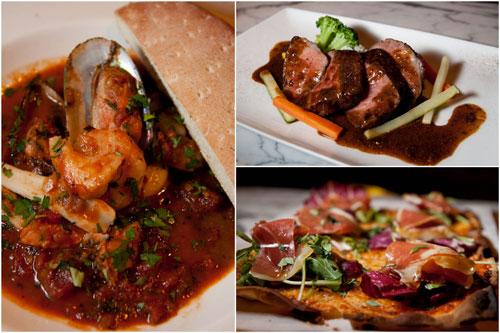 italian cippino, spanish black pig shoulder loin steak, mama mia pizza