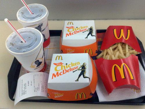 McValue Lunch Spicy McChicken