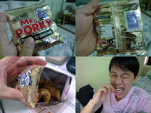 Mr Porky Pork Crackles