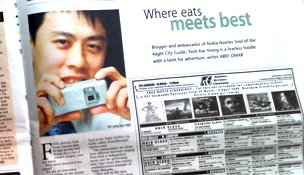 KY on newspaper