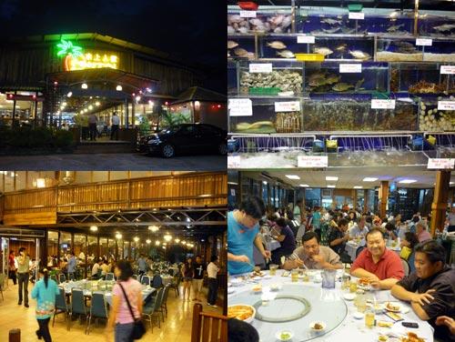 Pantai Seafood at Kampung Sungai Kayu Ara, PJ