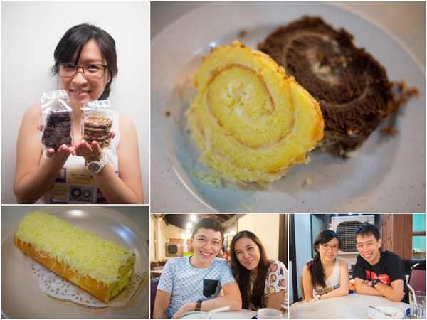 wenqi and her pastries, tianchad & gf, KY & wenqi