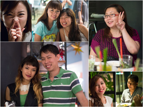 Pearl, Reiko, Evelyn, Suan, Haze, KY, Audrey, Owner