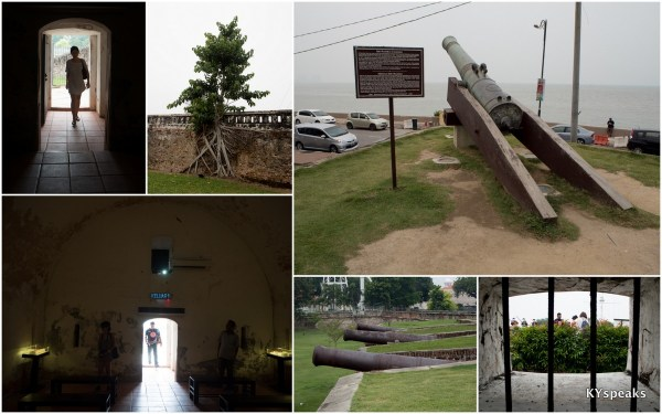 Fort Cornwallis, where Sir Francis Light first stepped foot on Penang