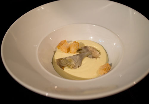 artichokes fritata