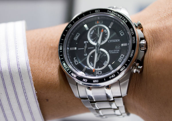 Citizen Eco-Drive Super Titanium CA0341-52E