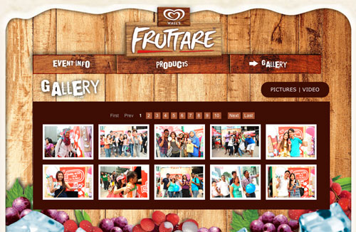 find yourself on Fruttare Surprise gallery